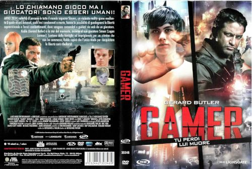 Gamer - dvd ex noleggio distribuito da Mondo Home Entertainment