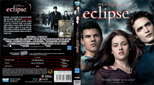 Eclipse - The twilight saga BD - blu-ray ex noleggio distribuito da Eagle Pictures