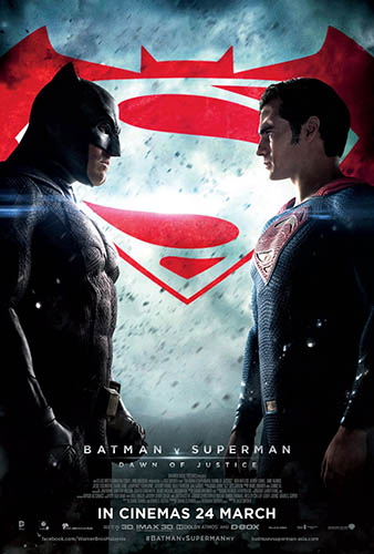 Batman vs Superman BD - blu-ray ex noleggio distribuito da Warner Home Video