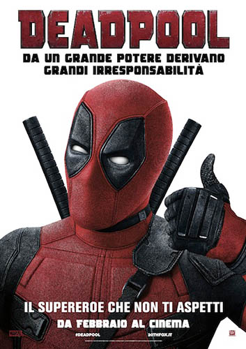 Deadpool BD - blu-ray ex noleggio distribuito da 20Th Century Fox Home Video