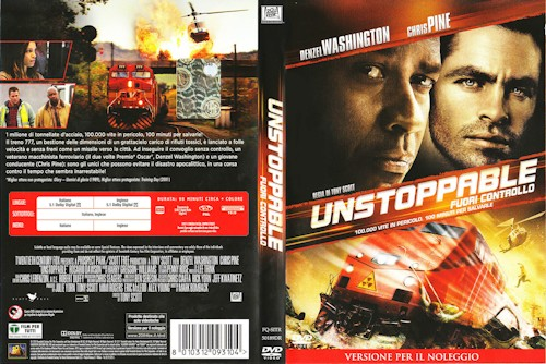Unstoppable - Fuori controllo  - dvd ex noleggio distribuito da 20Th Century Fox Home Video